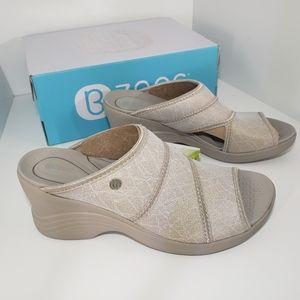 Brand New Nude COMFORT Machine Washable Sandals